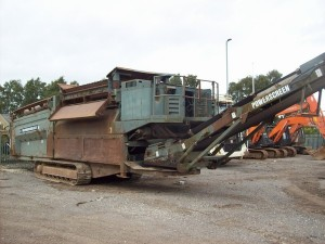 Powerscreen Trommel Machine Replacement Parts