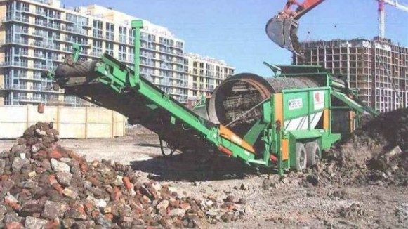 Trommel Drum Screens for Crushed Stone and Concrete