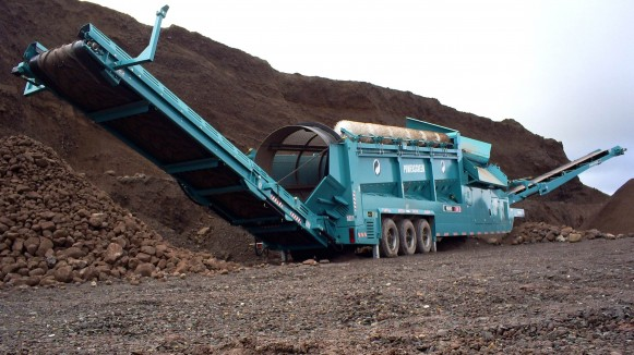 Replacement Trommel Drum Screens for Gravel